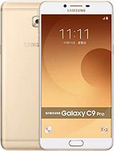 Best available price of Samsung Galaxy C9 Pro in Pakistan
